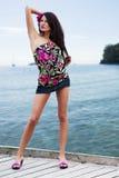 Sensual summer girl Stock Photo