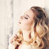Sensual Woman Fashion Model Stock Photos