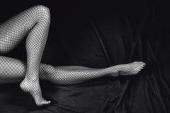 Sensual woman legs Stock Images