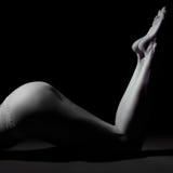 Sensual woman legs Royalty Free Stock Image