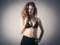 Sensual woman in lingerie Royalty Free Stock Photography