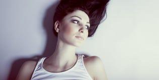 Sensual woman model Royalty Free Stock Image