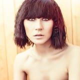 Sensual woman model Royalty Free Stock Photography