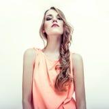 sensual woman model Stock Photography