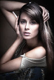 Sensual woman portrait Royalty Free Stock Image