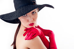 sensual woman Royalty Free Stock Photo