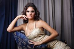 Sensual woman portrait Stock Image