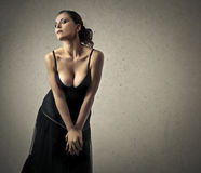 Sensual woman Royalty Free Stock Image