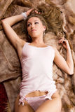 Sensual women. Royalty Free Stock Photography