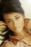 Sensual young adult woman royalty free stock photos