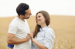 Sensual young couple in love Royalty Free Stock Photo