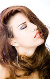 Sensual young woman Royalty Free Stock Photo