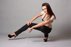 Sensual young woman Stock Image