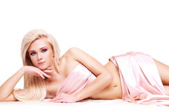 Sensual Young Woman With Beautiful Body. Royalty Free Stock Images