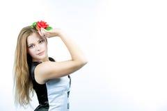 Sensualità brillante del vostro blonde caucasico Fotografia Stock