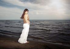Sensualité de mer photographie stock libre de droits
