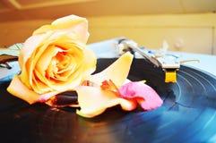 Sensualitet och musik Royaltyfria Foton