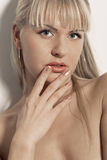 Sensuality look Stock Photos
