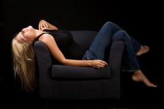 Sensueel meisje Royalty-vrije Stock Fotografie