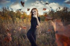 Sensueel meisje Stock Foto's