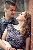 Sensueel paar in liefde Stock Afbeeldingen
