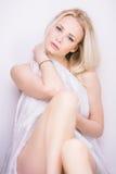 Sensuele blond Royalty-vrije Stock Foto's