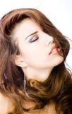 Sensuele jonge vrouw Royalty-vrije Stock Foto
