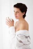 Sensuele koffie Stock Foto's