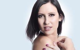 Sensuele mooie jonge vrouw Stock Fotografie
