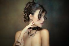 Sensuele schoonheid royalty-vrije stock fotografie