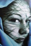 Sensuele symbolische vrouw - Royalty-vrije Stock Afbeelding