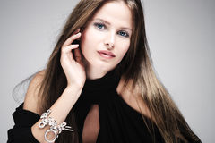 Sensuele vrouw Royalty-vrije Stock Foto's