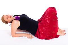 Sensuele vrouw Stock Foto