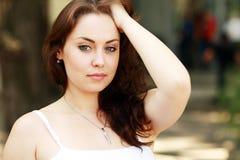 Sensuele vrouw Royalty-vrije Stock Fotografie