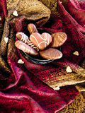 Sensuous chocolate Stock Images