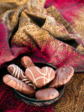 Sensuous chocolate Stock Photo