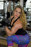 Sensuous in the Gym Stock Photos