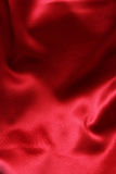 Sensuous Smooth Red Satin Stock Photos