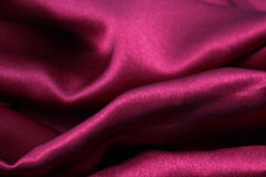 Sensuous Smooth Red Satin. Picture of a Sensuous Smooth Red Satin Stock Photos