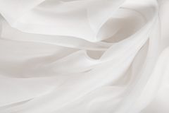 Sensuous Smooth  Satin Stock Photography