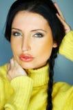 Sensuous Woman. Portrait of a young sensuous woman Royalty Free Stock Photos