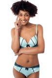Sensuous young woman in bikini Stock Photo