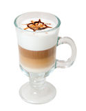 sent chokladkaffe Royaltyfri Foto