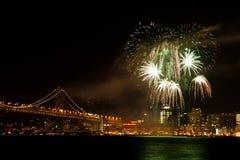 Senta il fuoco d'artificio di figura immagini stock libere da diritti