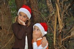 senta Santa voi Fotografia Stock