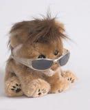 Sentada del león Fotos de archivo