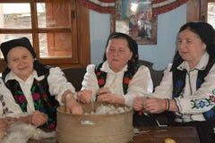 Sentada tradicional de la tarde Fotos de archivo libres de regalías