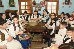 Sentada tradicional de la tarde Imagen de archivo libre de regalías