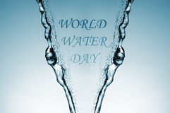 World water day Stock Images