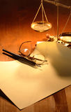 Sentencia Imagen de archivo libre de regalías
